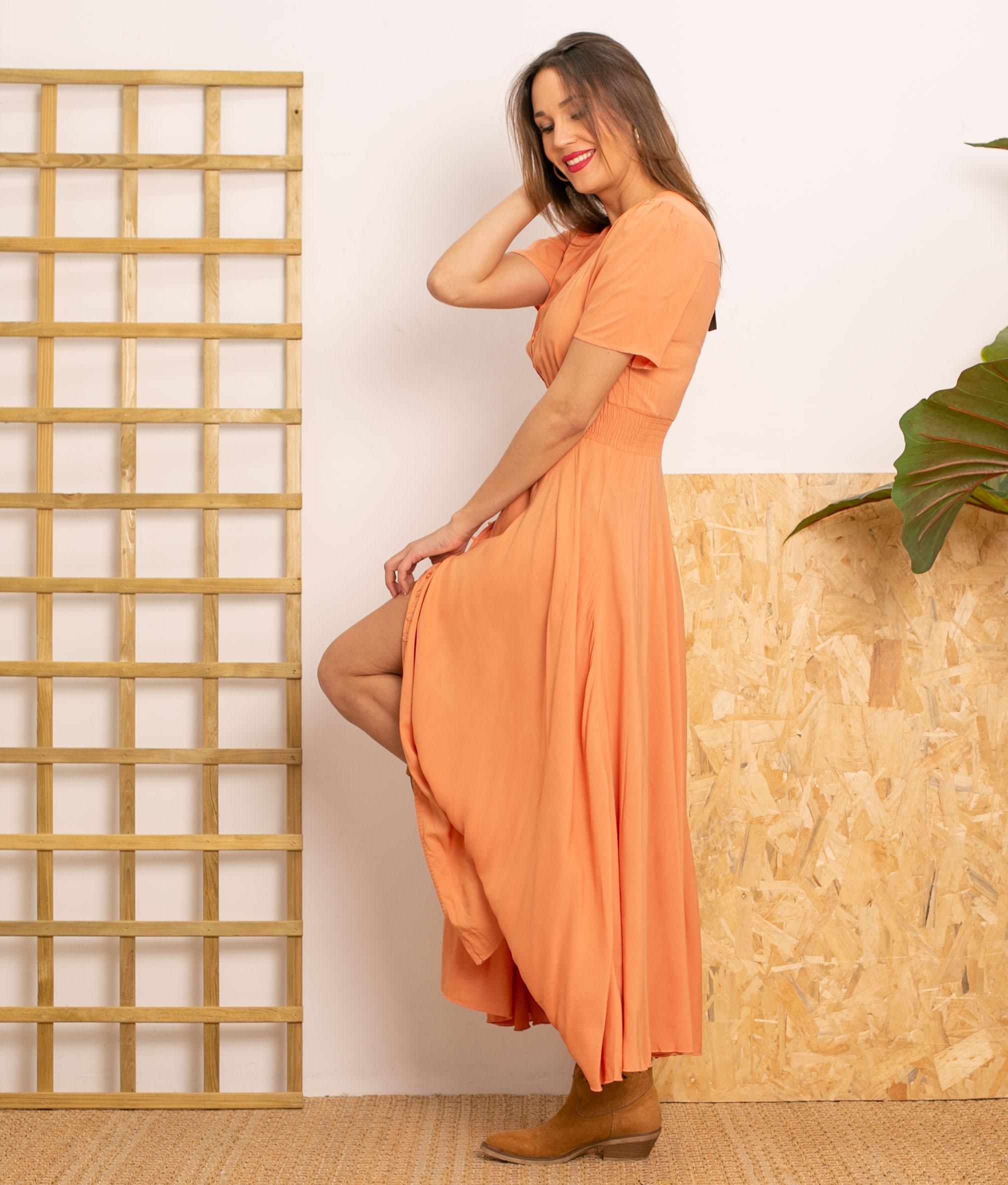 Vestido Desal - Orange