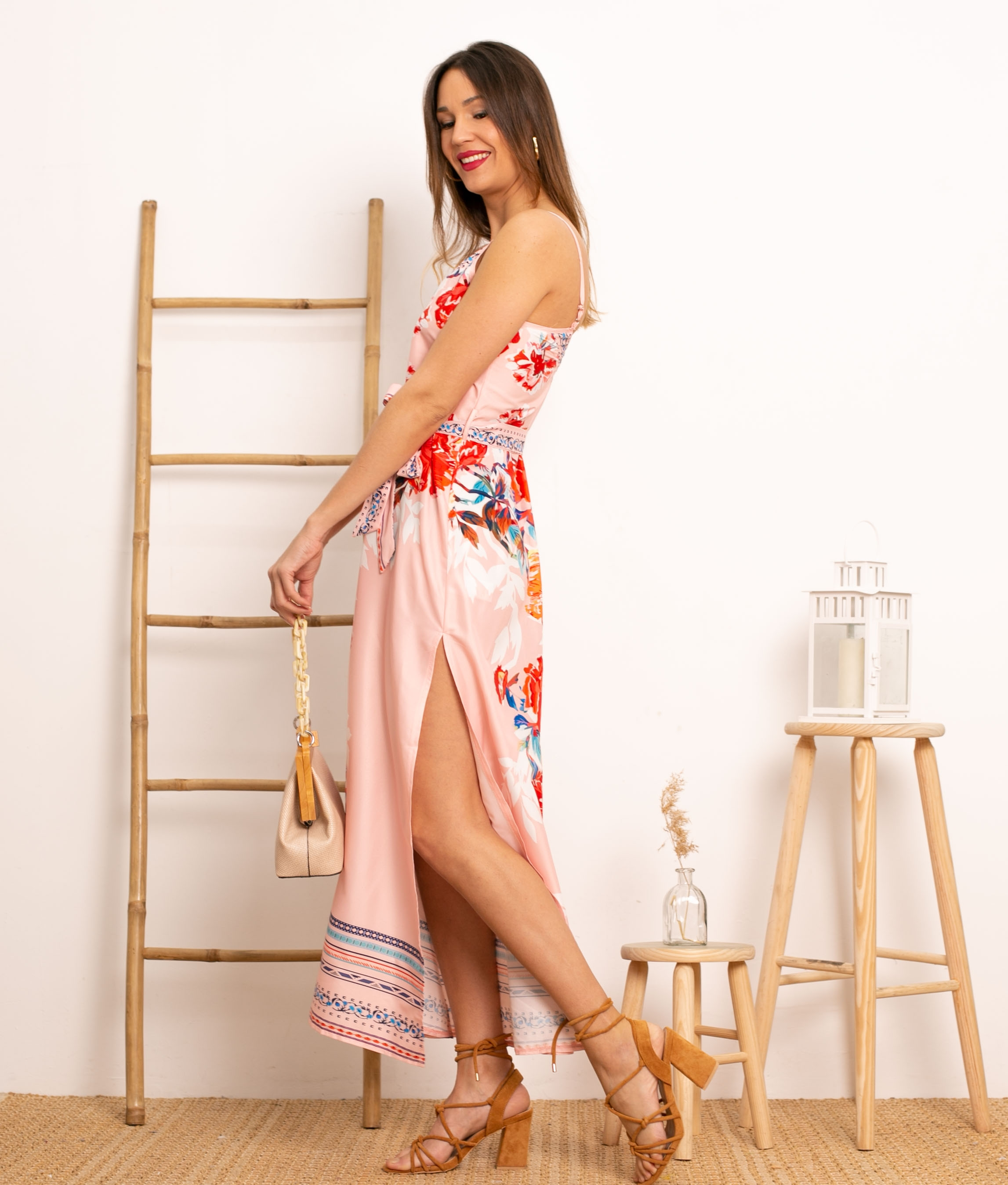 Vestido Calen - Rosa