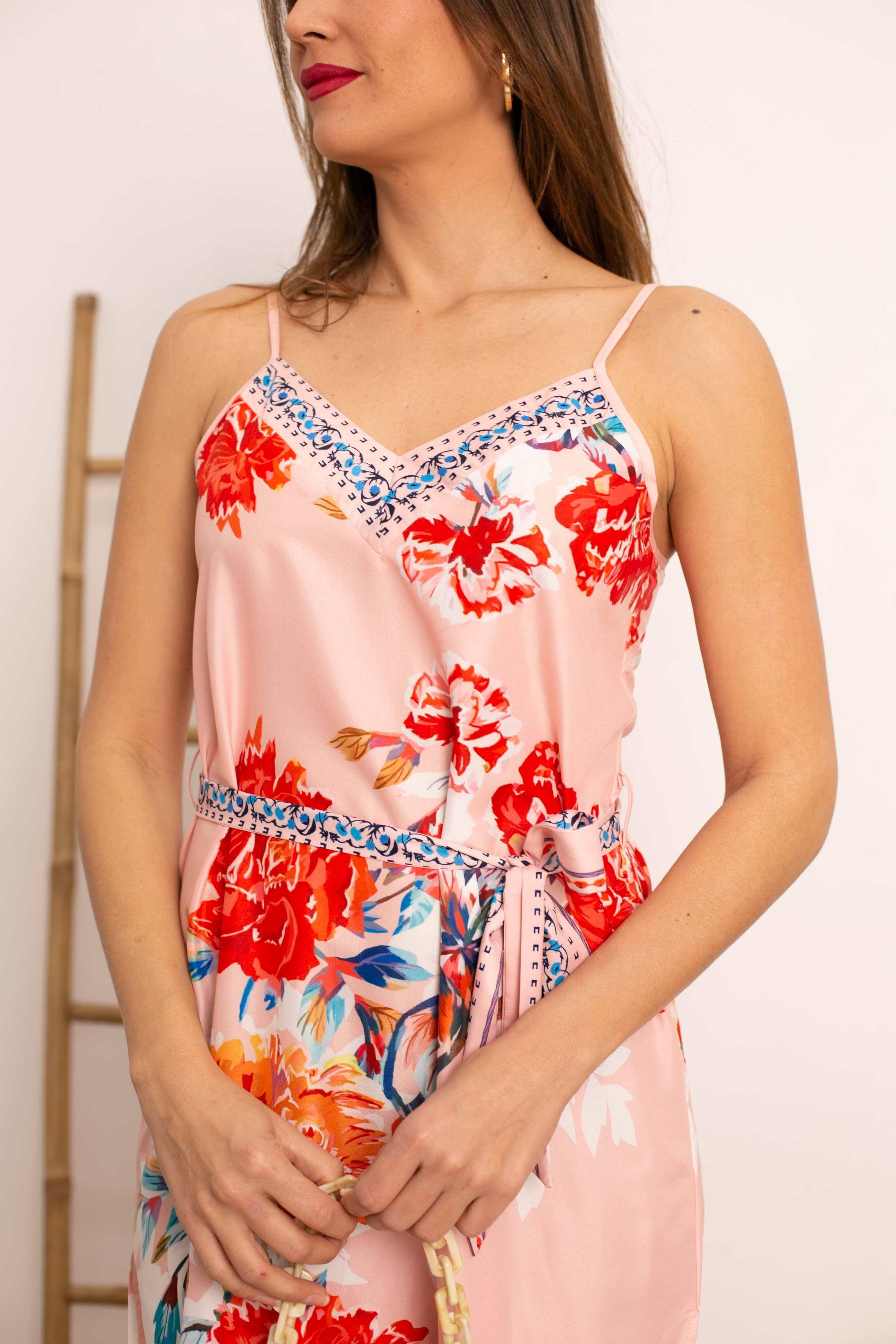Vestido Calen - Pink