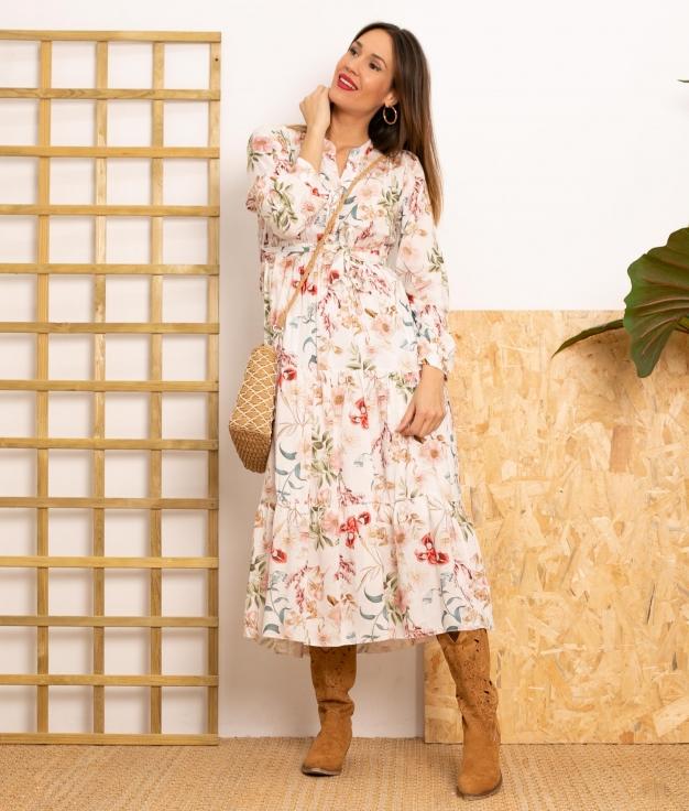 Vestido Legum - Blanc