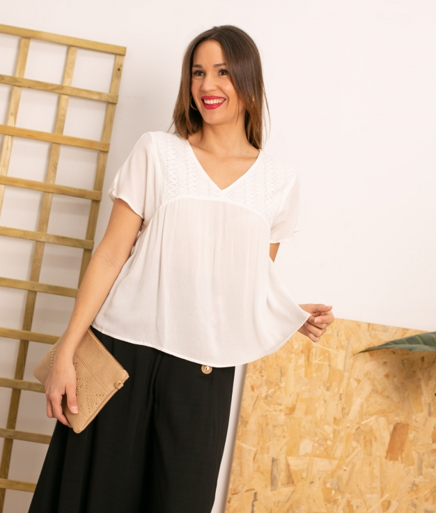 Blouse Zore - White