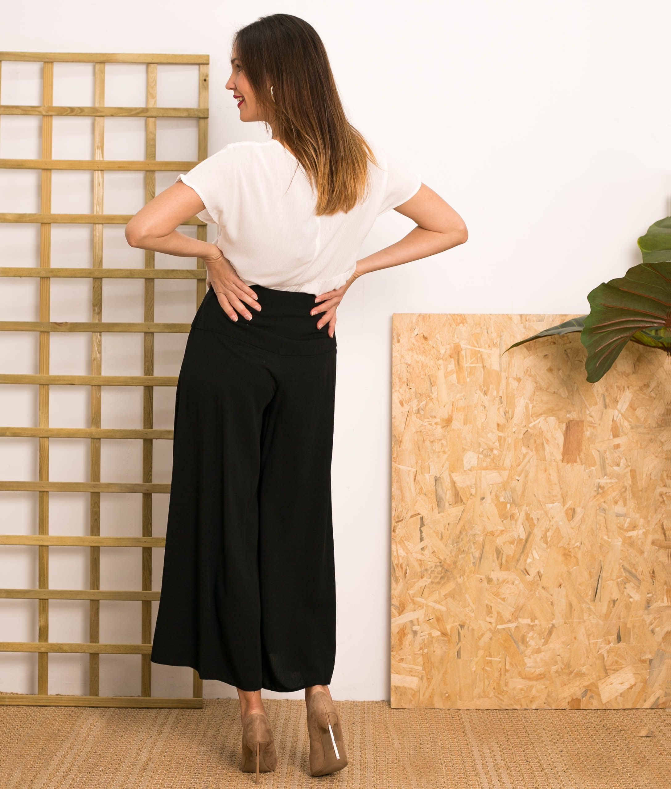 Pantalón Hirosima - Noir