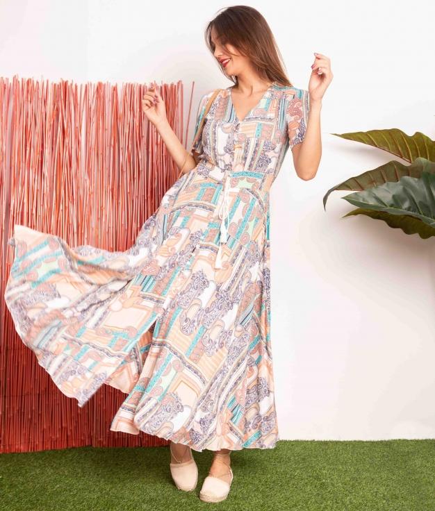 Vestido Seira - Multicolore