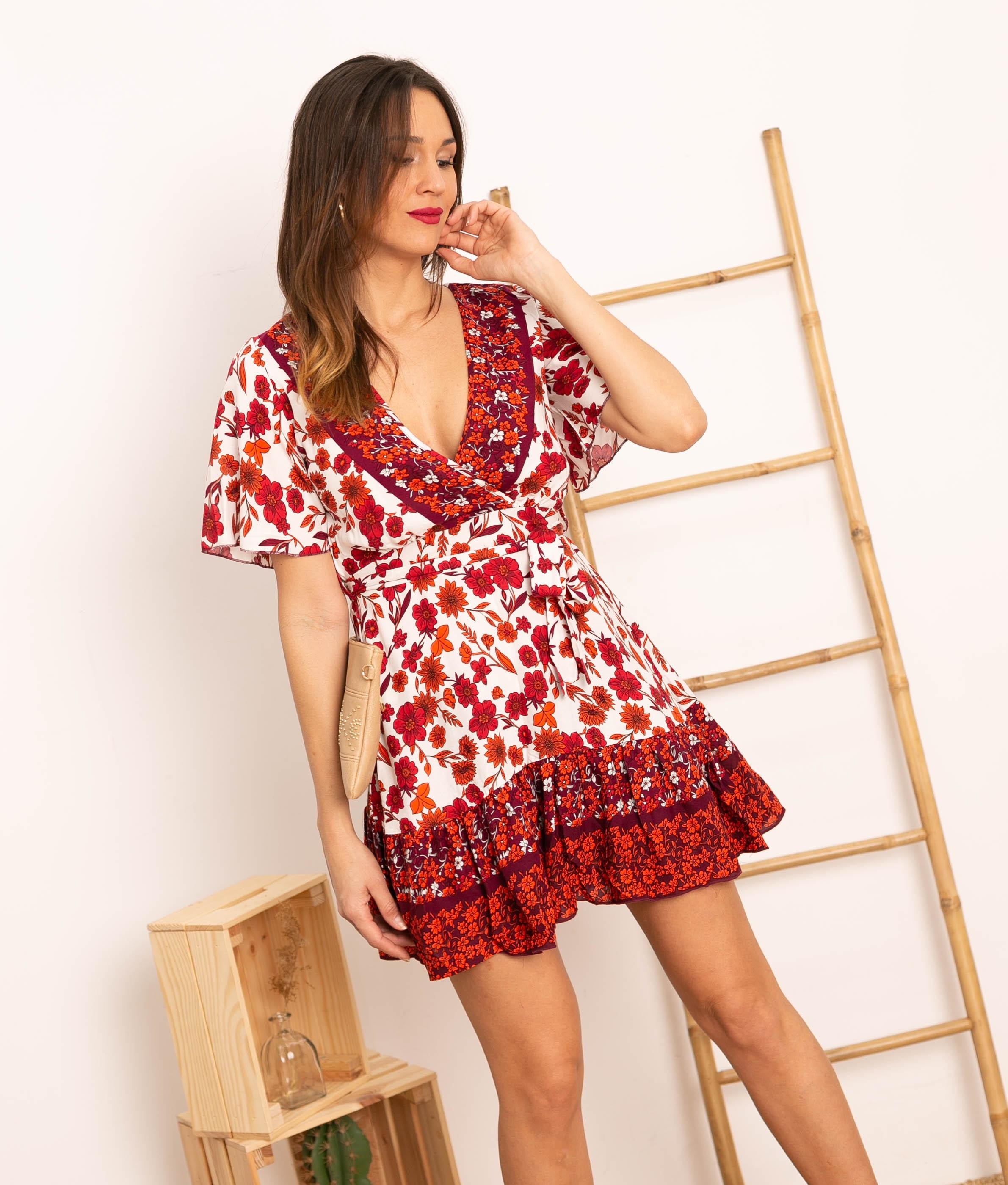 Vestido Kelmer - Vermelho