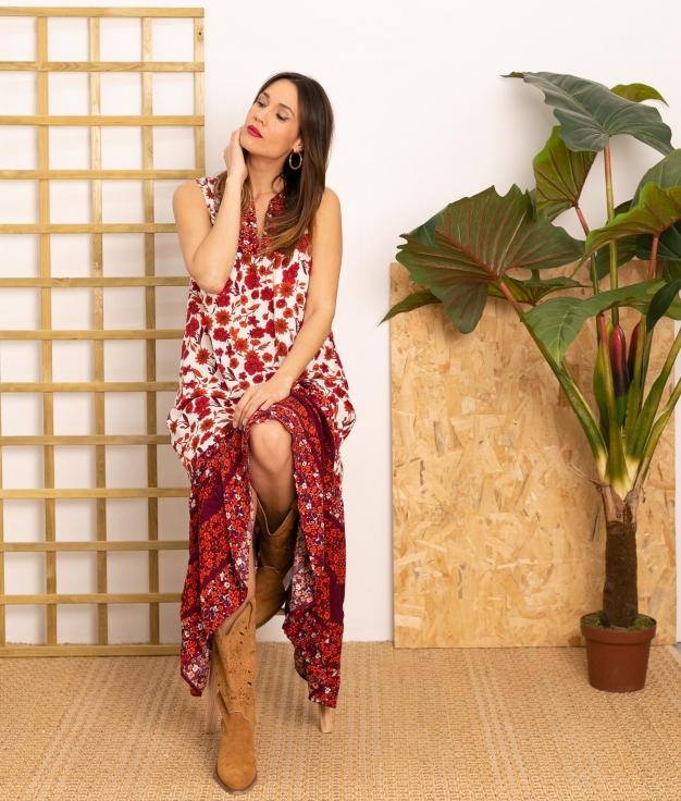 Vestido Lotic - Rosso