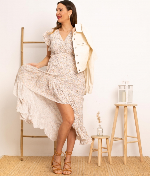 Vestido Kaito - Branco