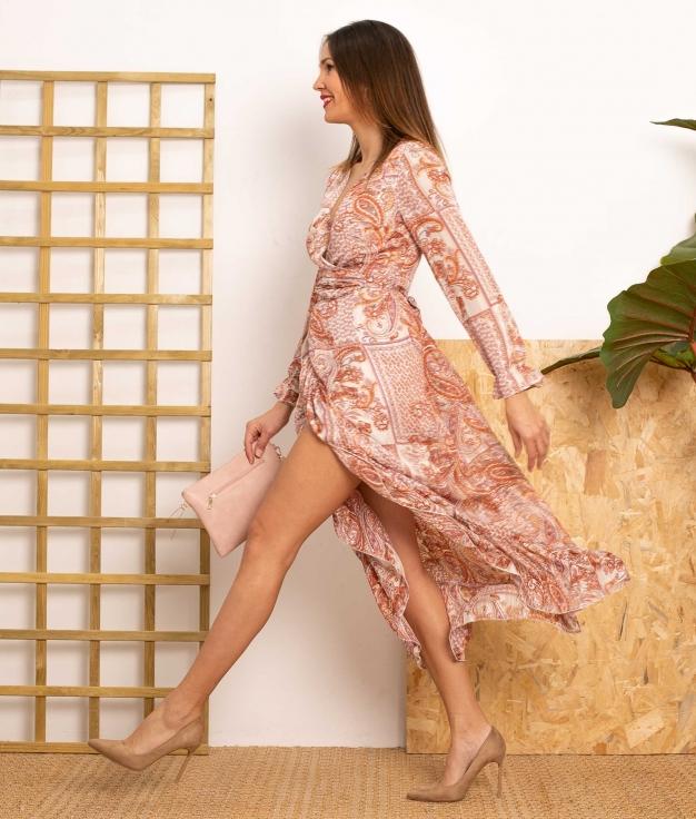 Vestido Creles - Rose