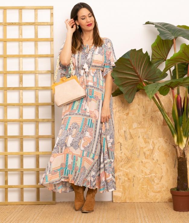 Vestido Bensi - Multicolore