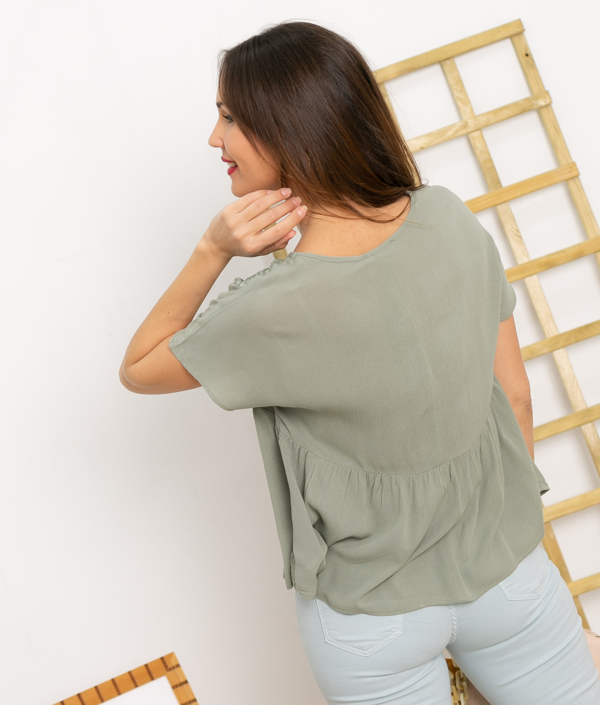 Blouse Zore - Green