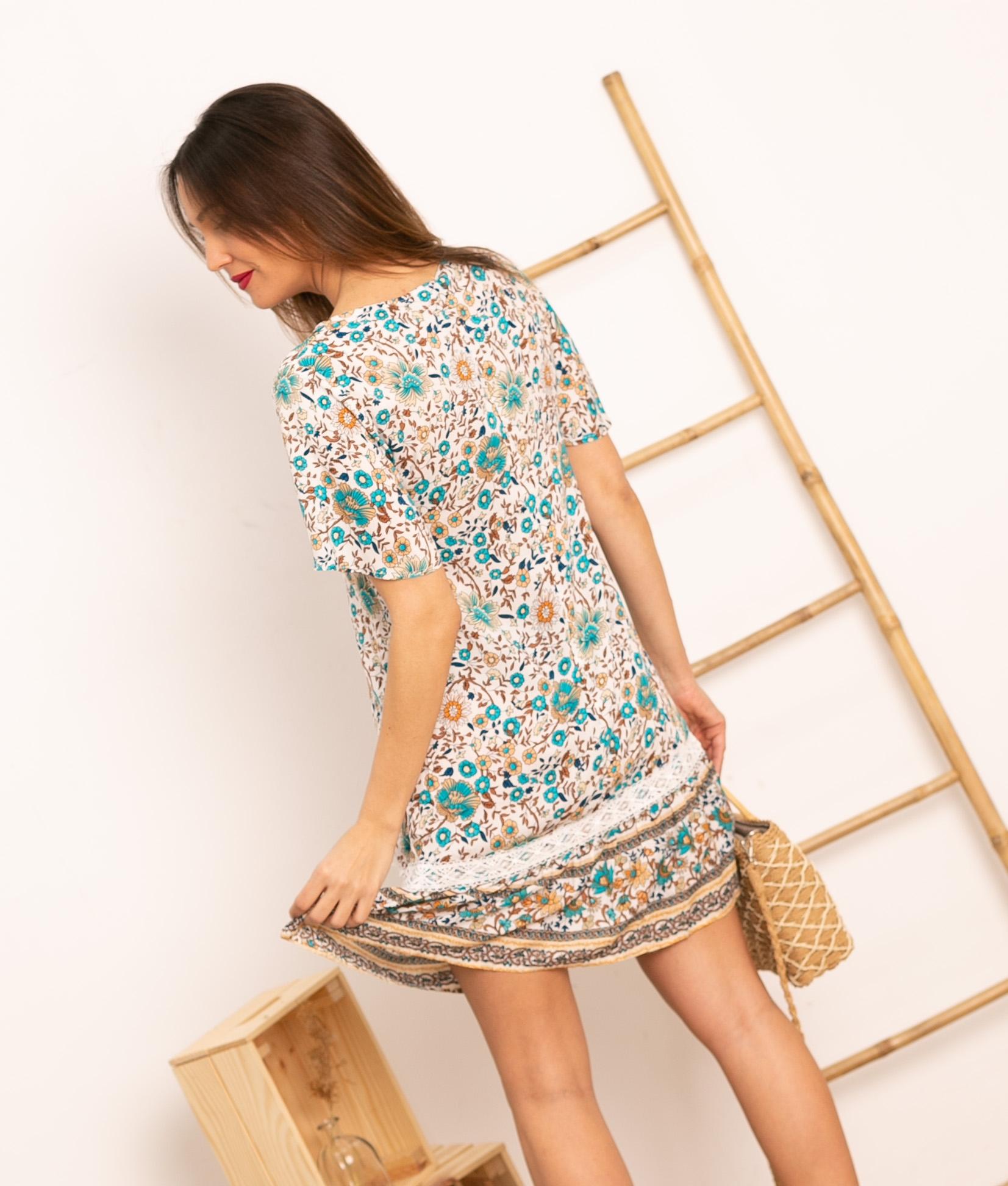 Vestido Belin - Multicolore