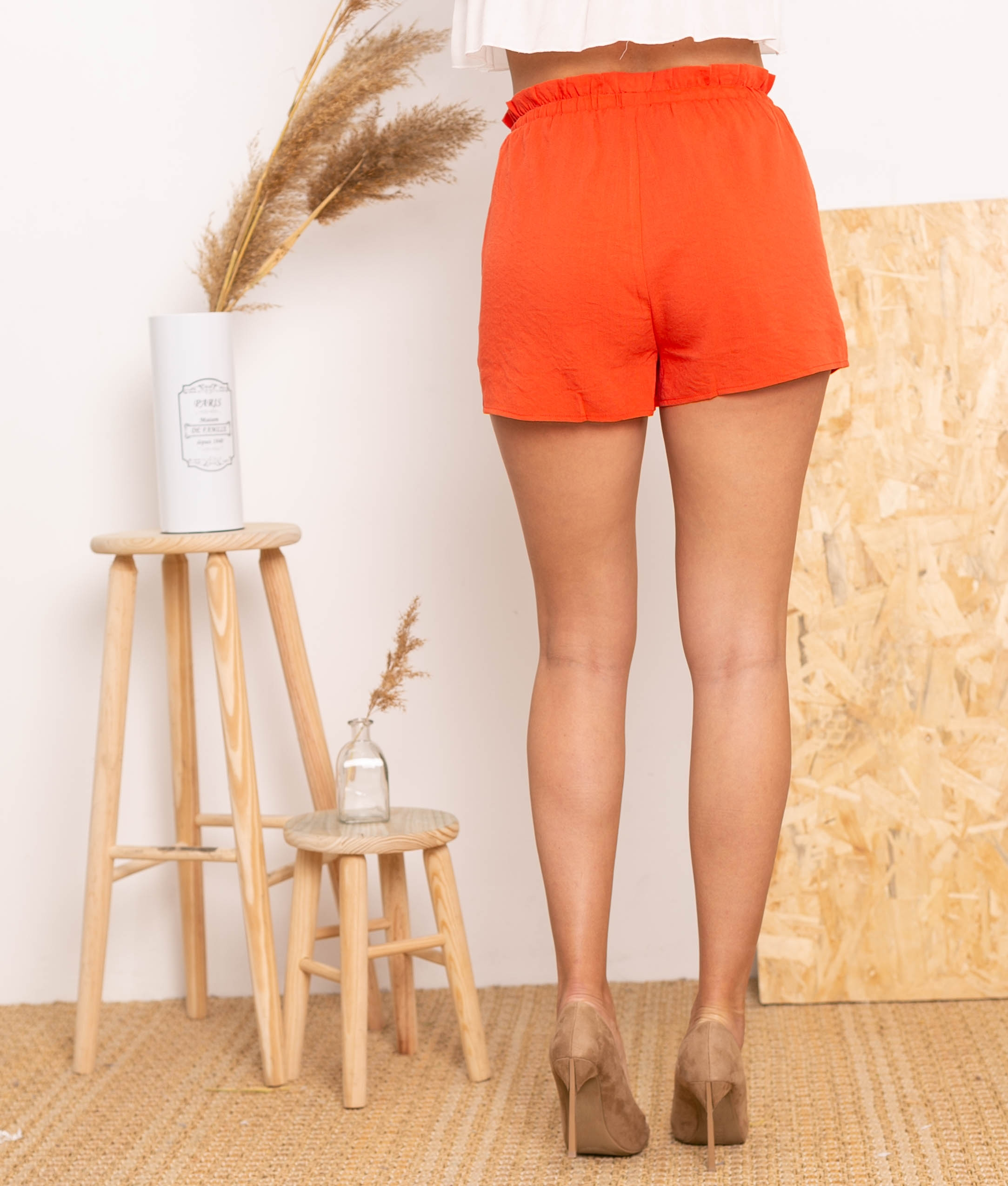 Short Milase - Orange