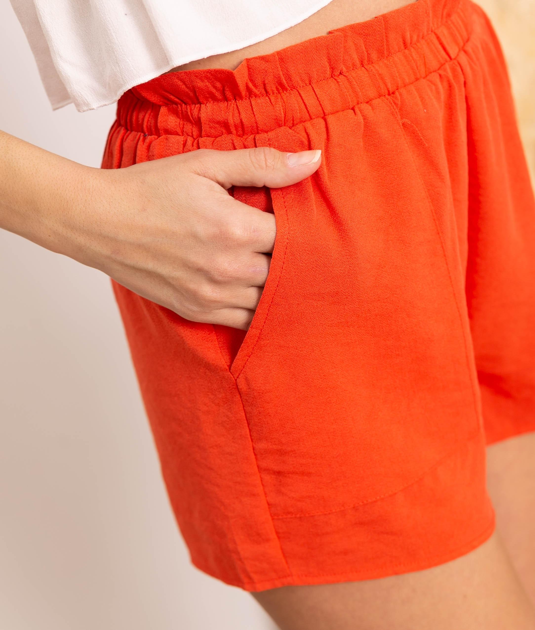 Short Milase - Naranja