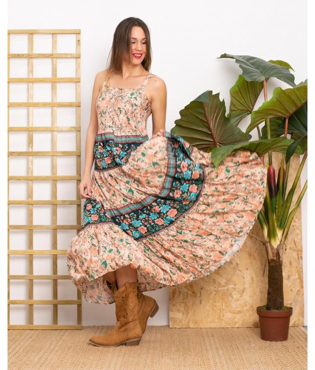 Vestido Mieles - Rose