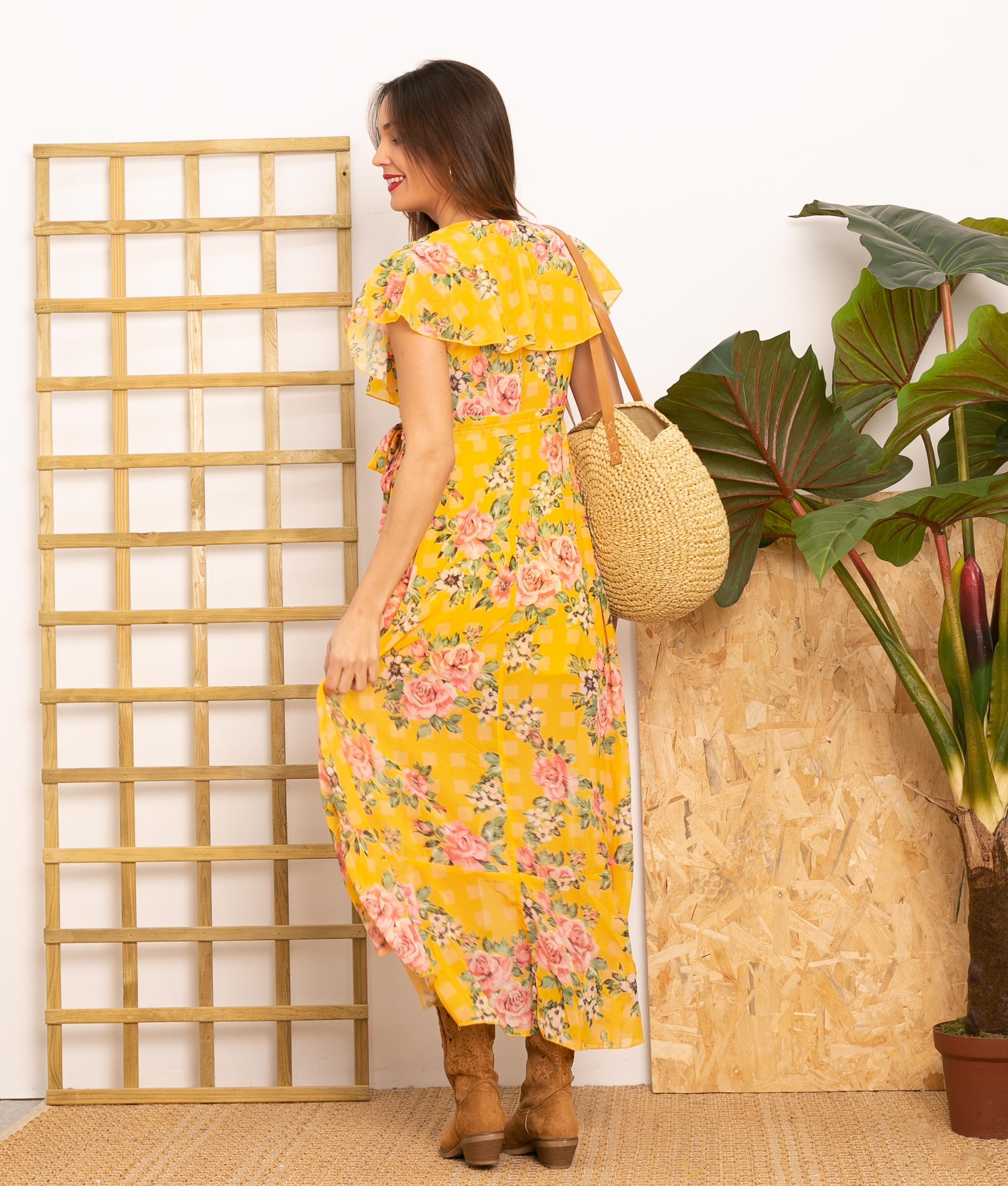 Vestido Minkel - Amarillo