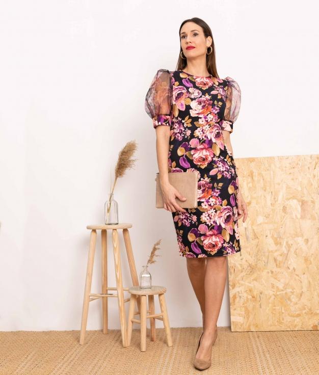 Vestido Tayste - Preto