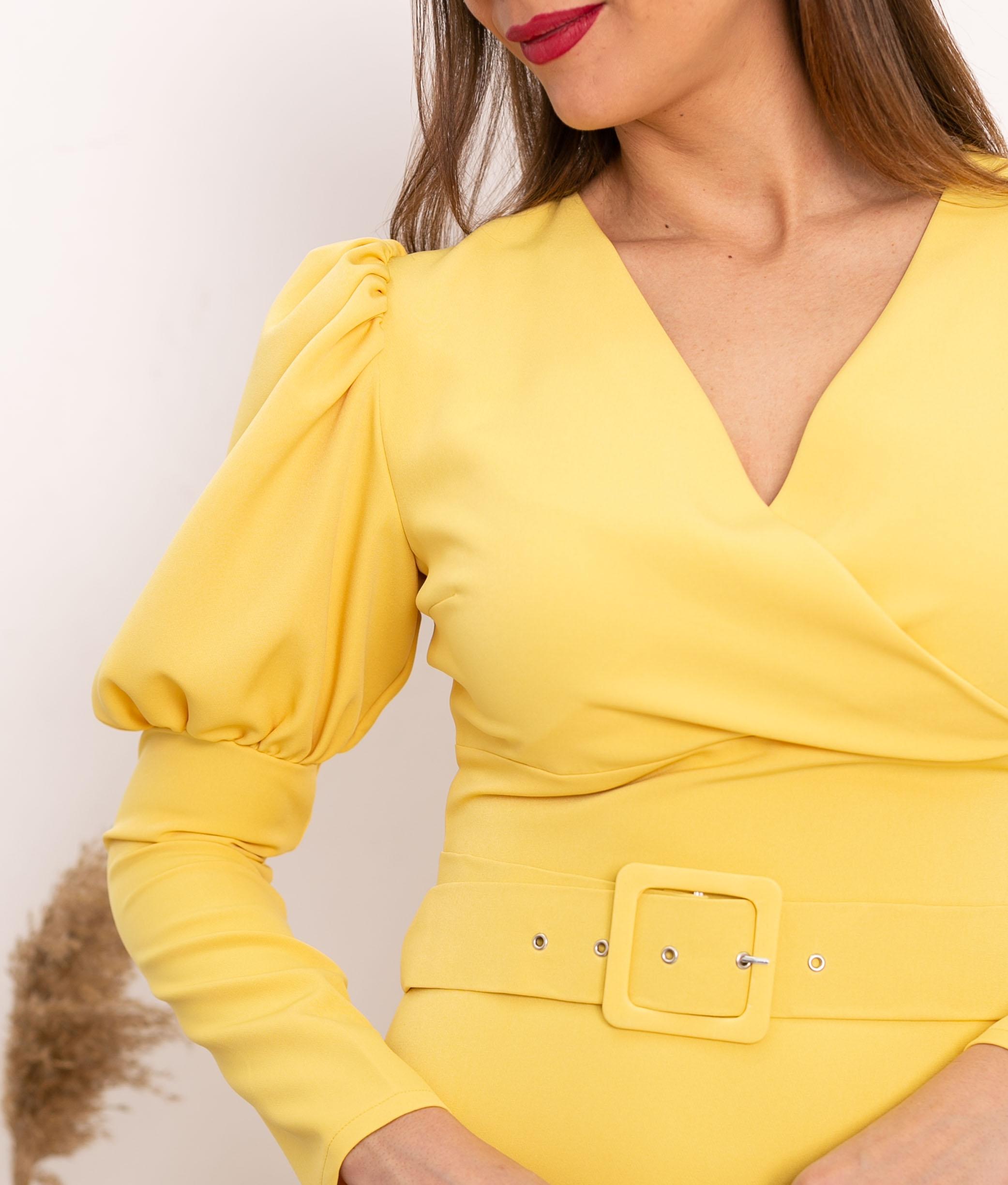 Vestido Bobety - Yellow