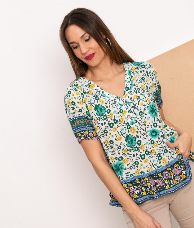 Blouse Tander - Green