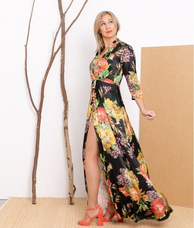 Vestido Gondel - Nero