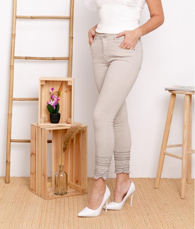 Pantalon Berques - Beige