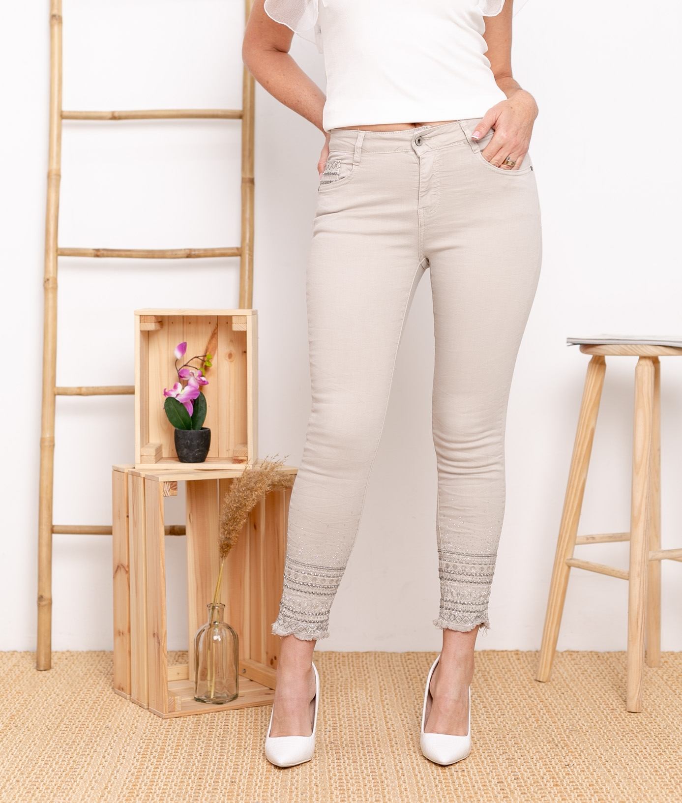 Trousers Berques - Beige