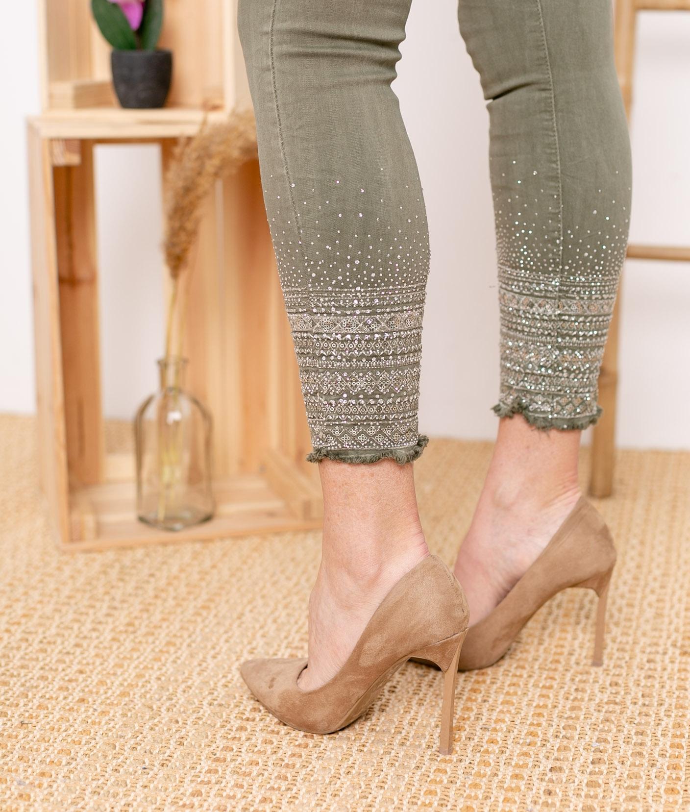 Pantaloni Berques - Cachi