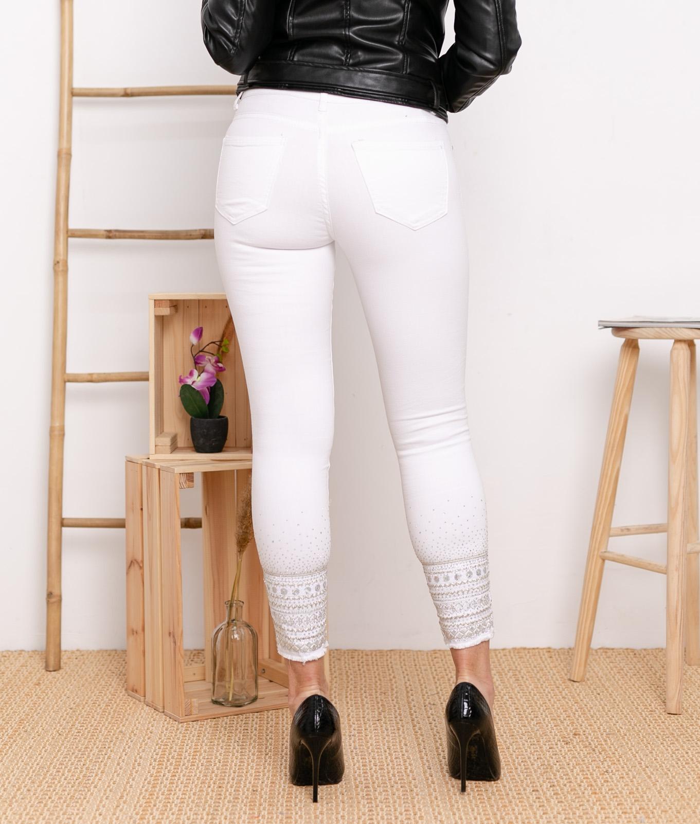 Pantalon Berques - Blanc