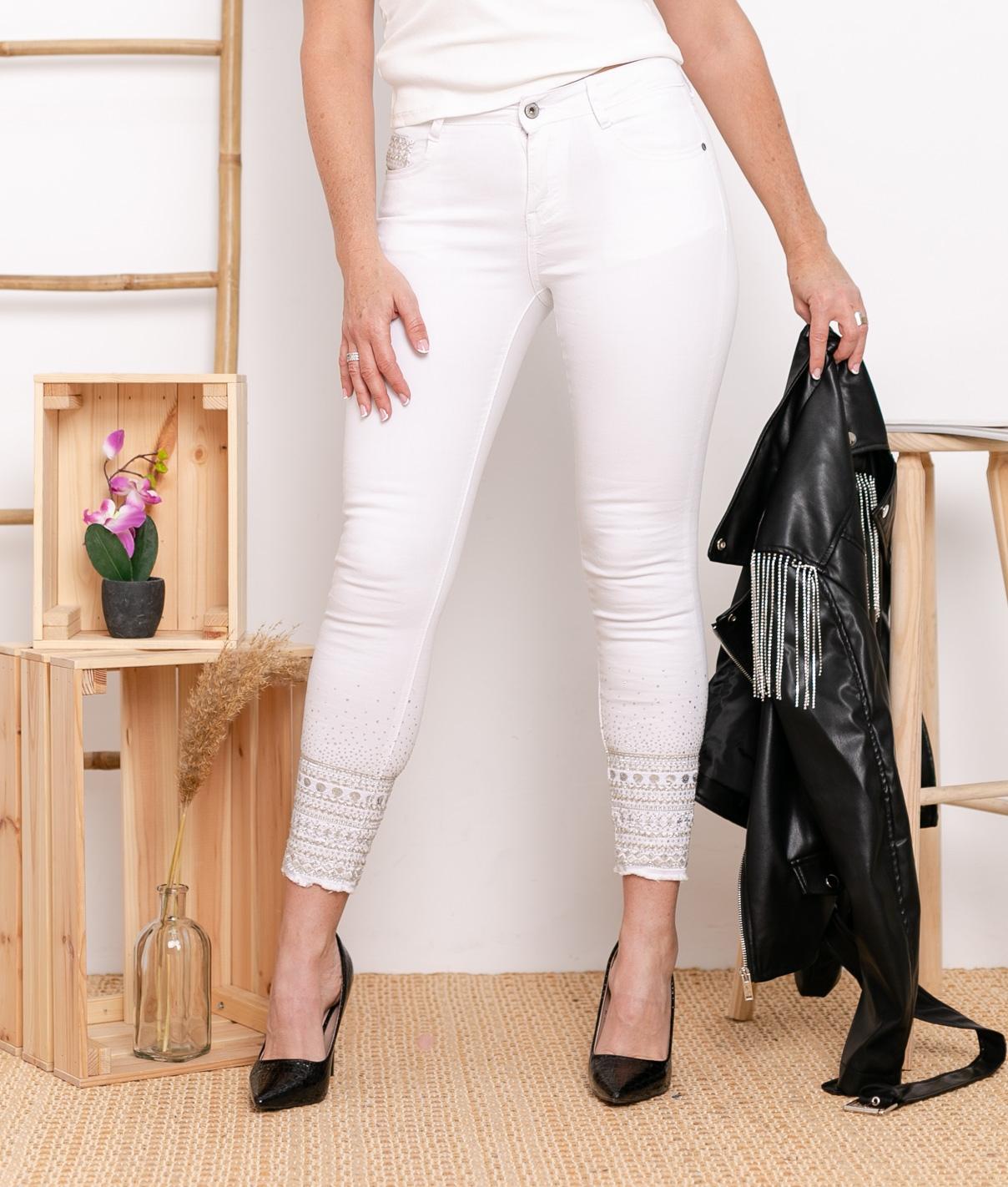 Pantaloni Berques - Bianco