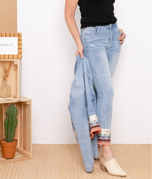 Trousers Etmis - Denim
