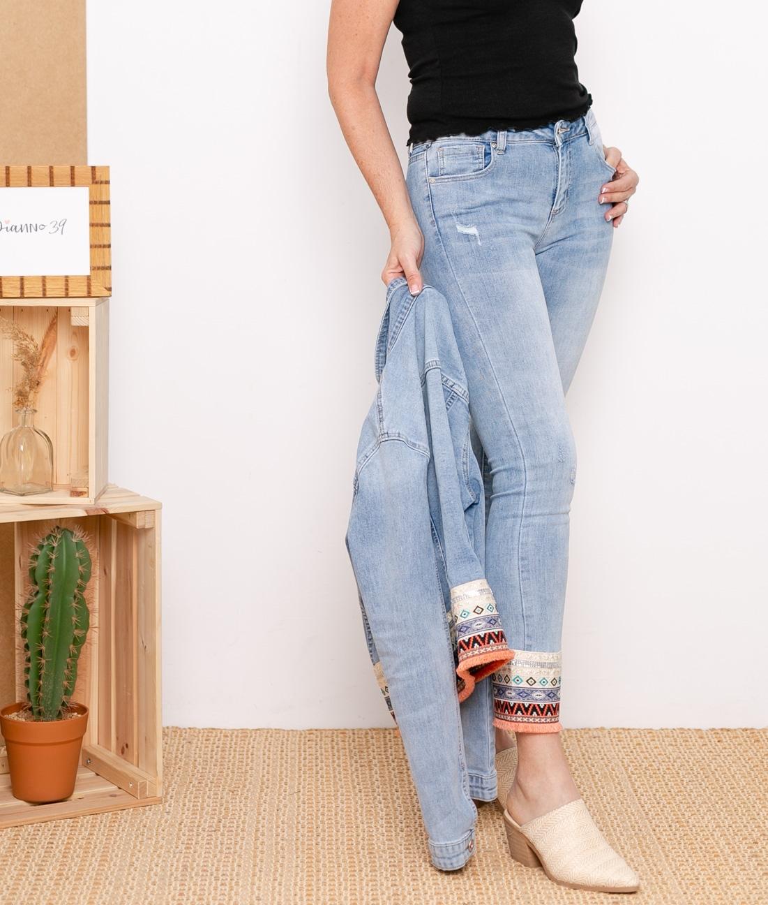 Pantaloni Etmis - Denim