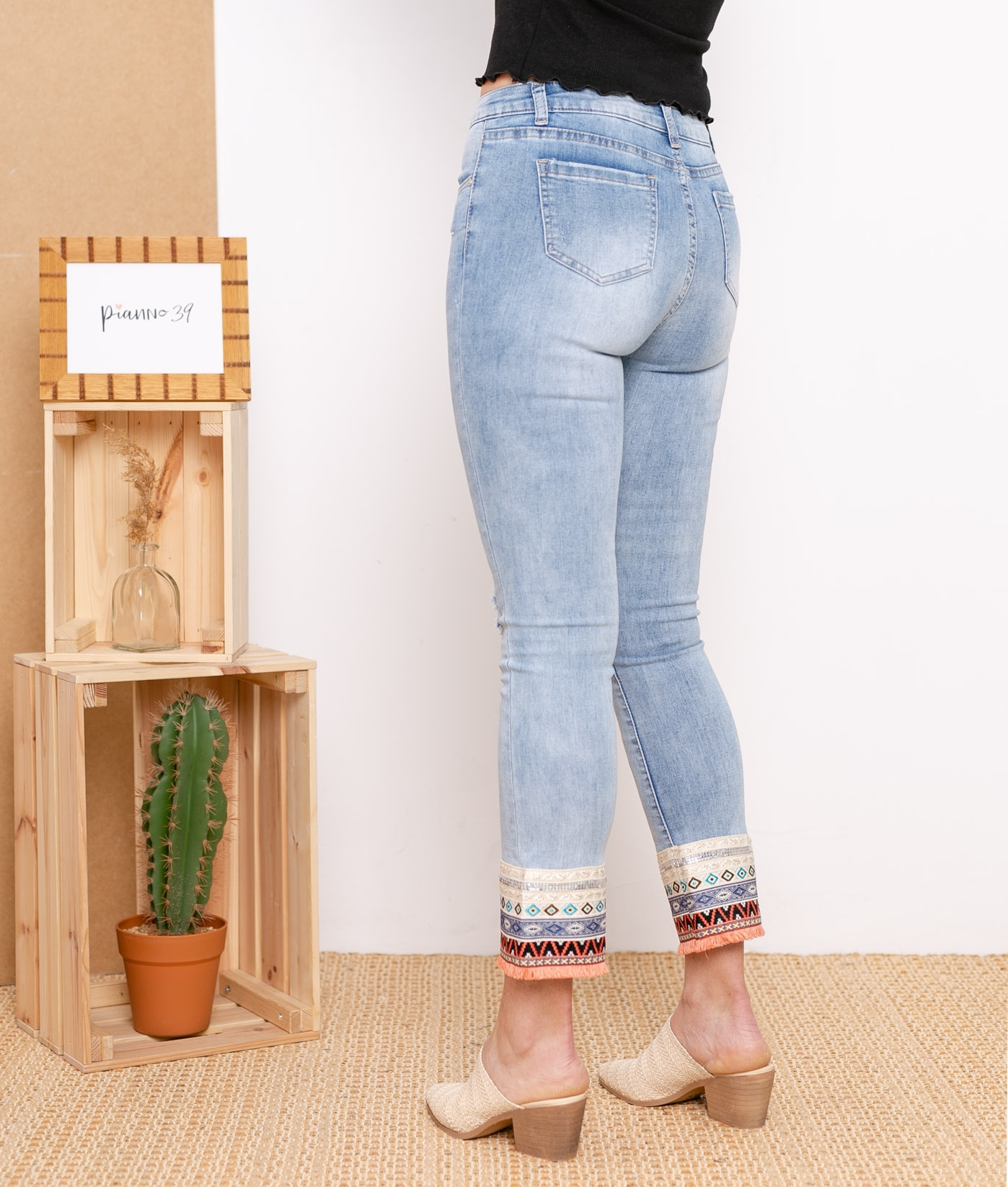 Pantalon Etmis - Denim