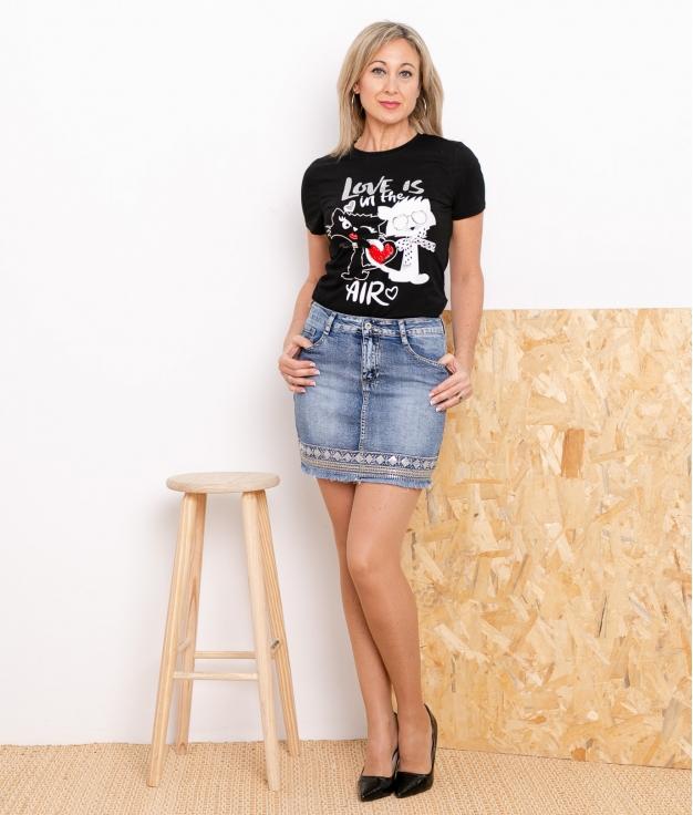 Skirt Lombis - Denim