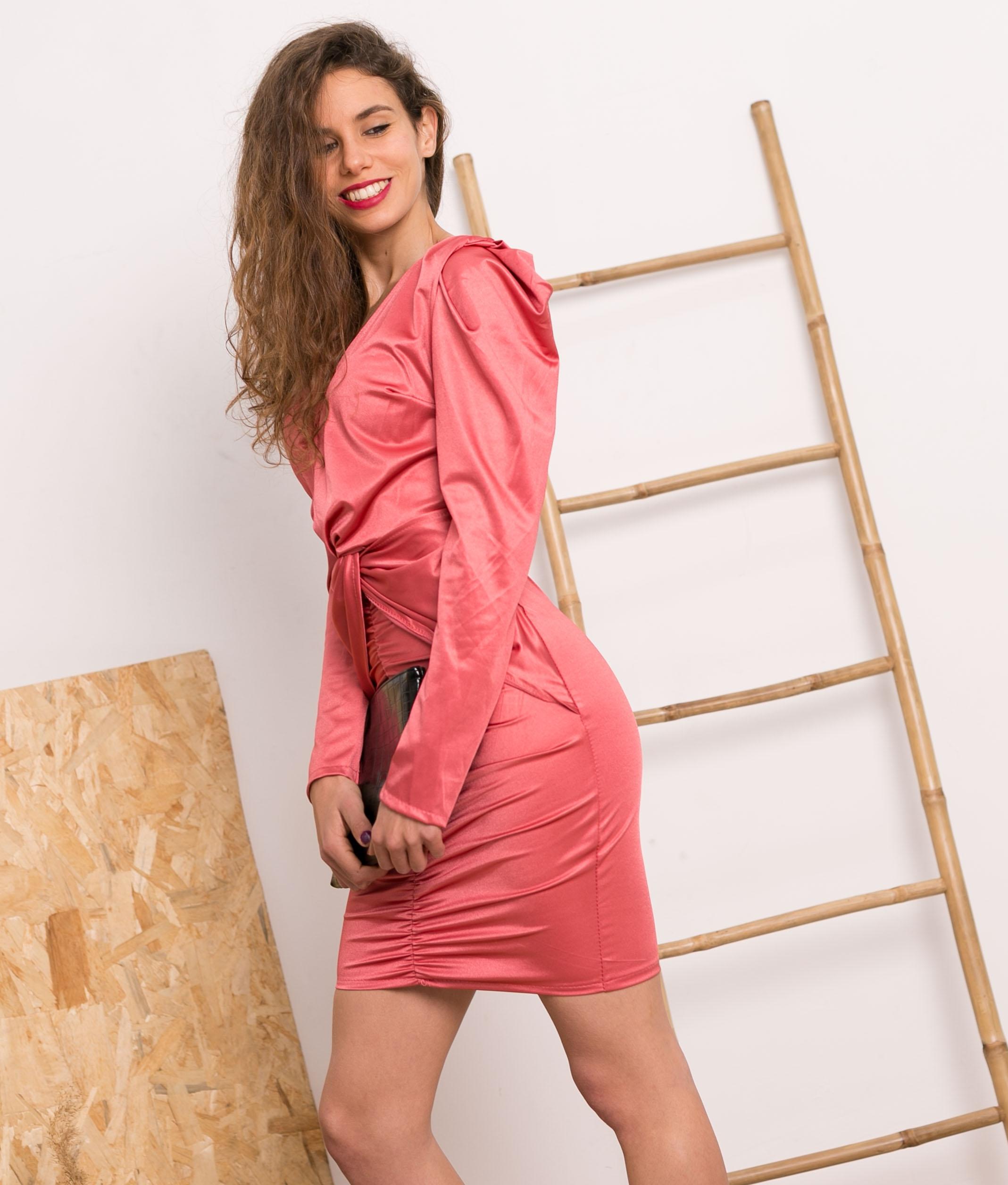 Vestido Kaniu - Rose