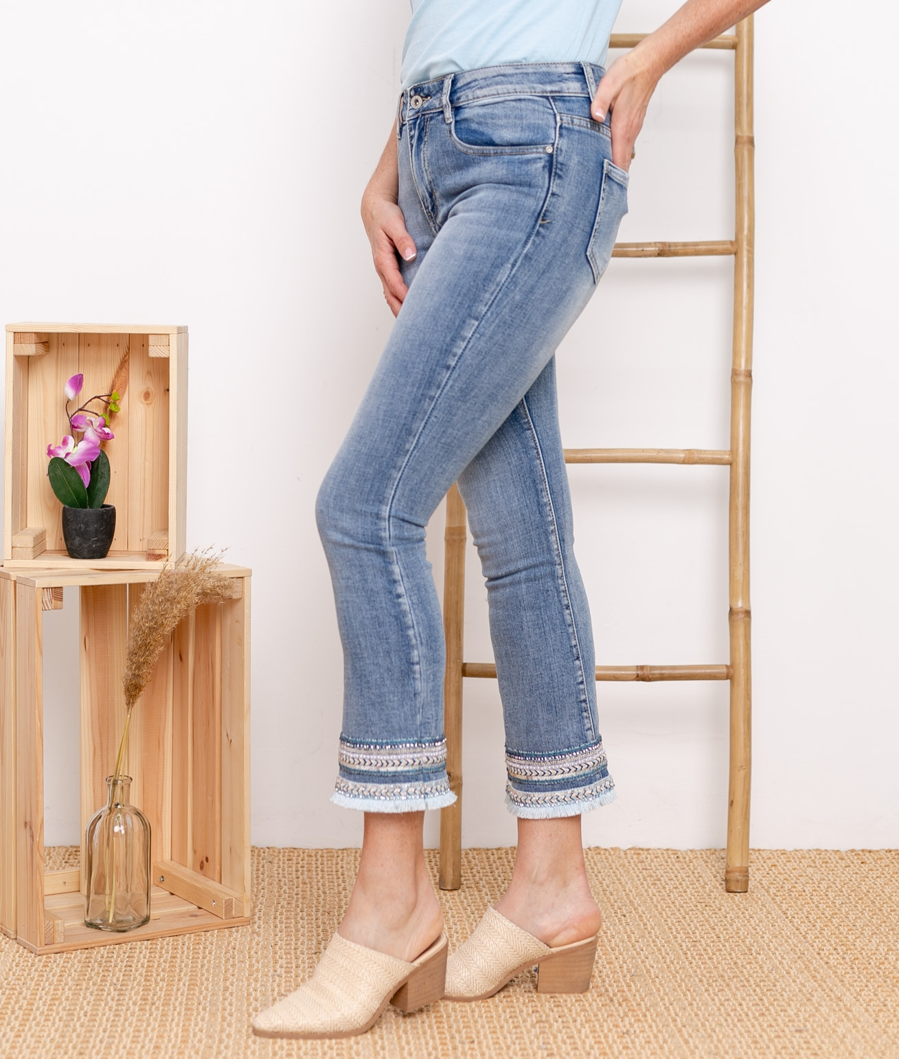Pantalon Ulmy - Denim