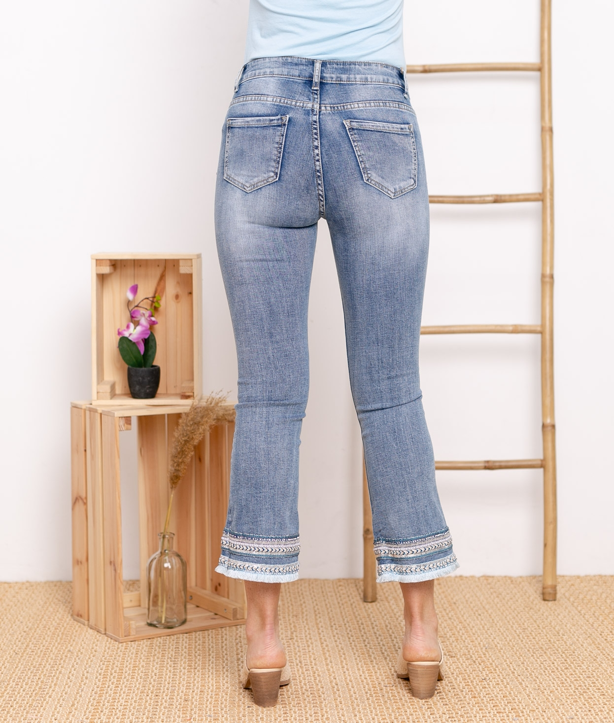 Pantaloni Ulmy - Denim