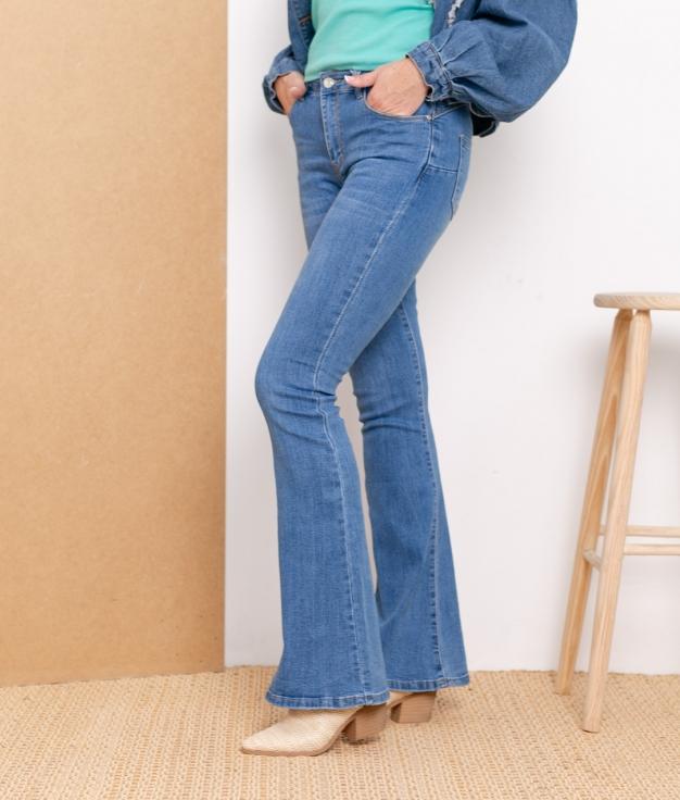 Pantalon Trates - Denim