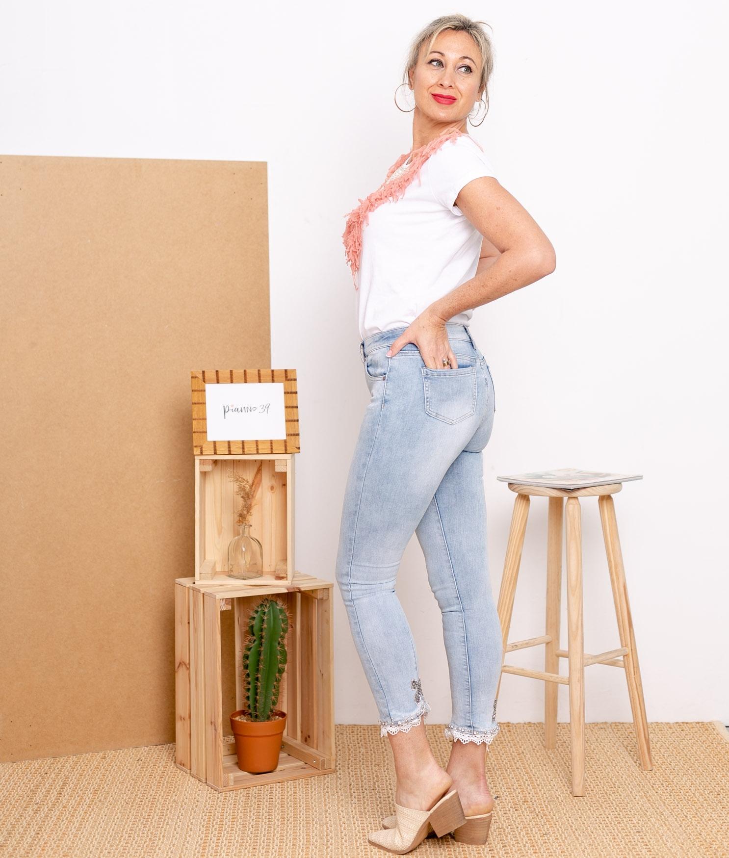 Pantaloni Halton - Denim