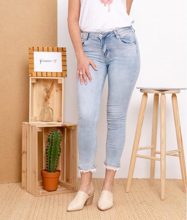 Pantalon Halton - Denim