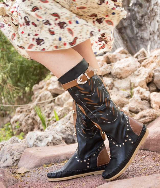 Indianini Boot Surina - Black
