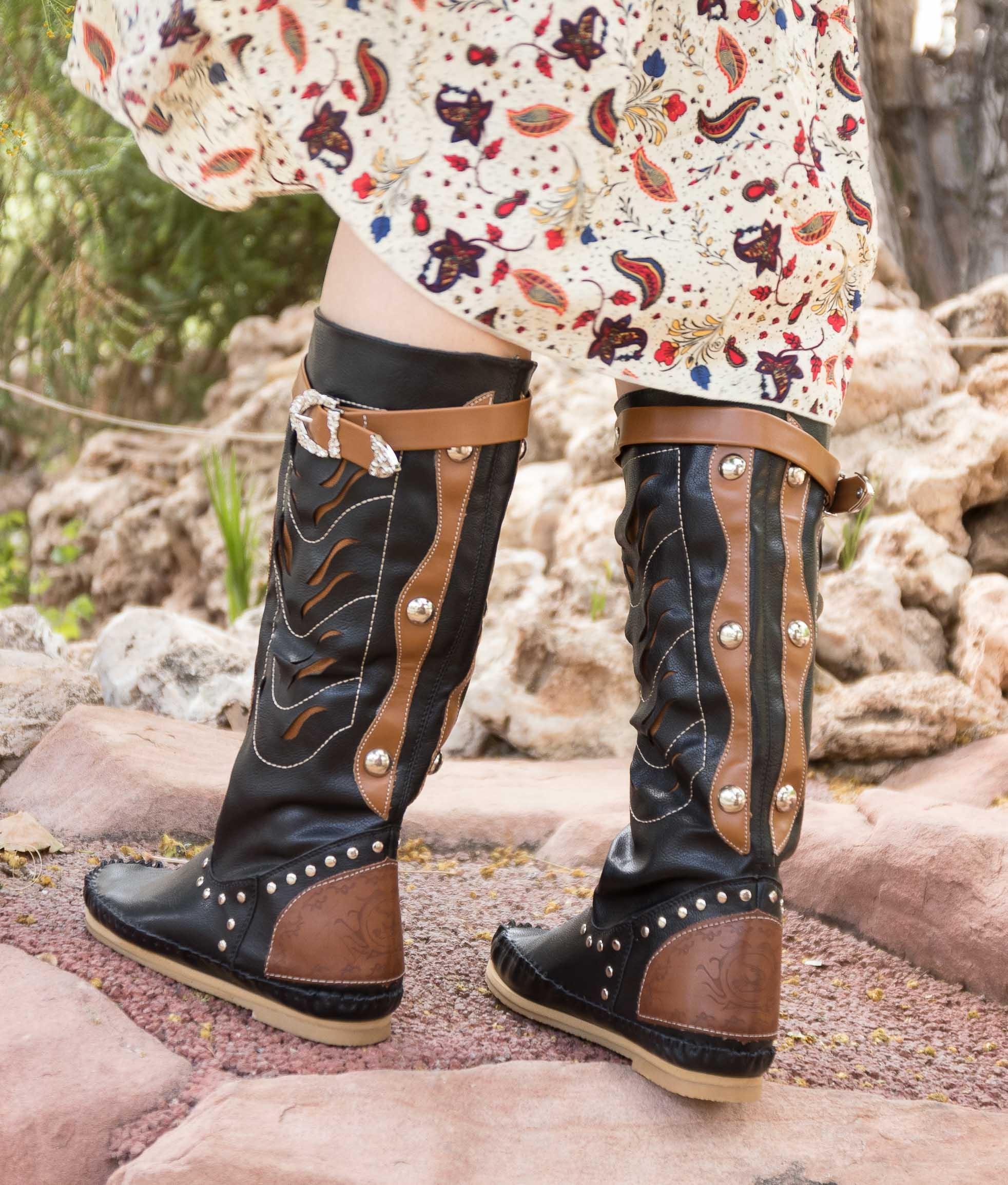 Knee-length Boot Surina - Black
