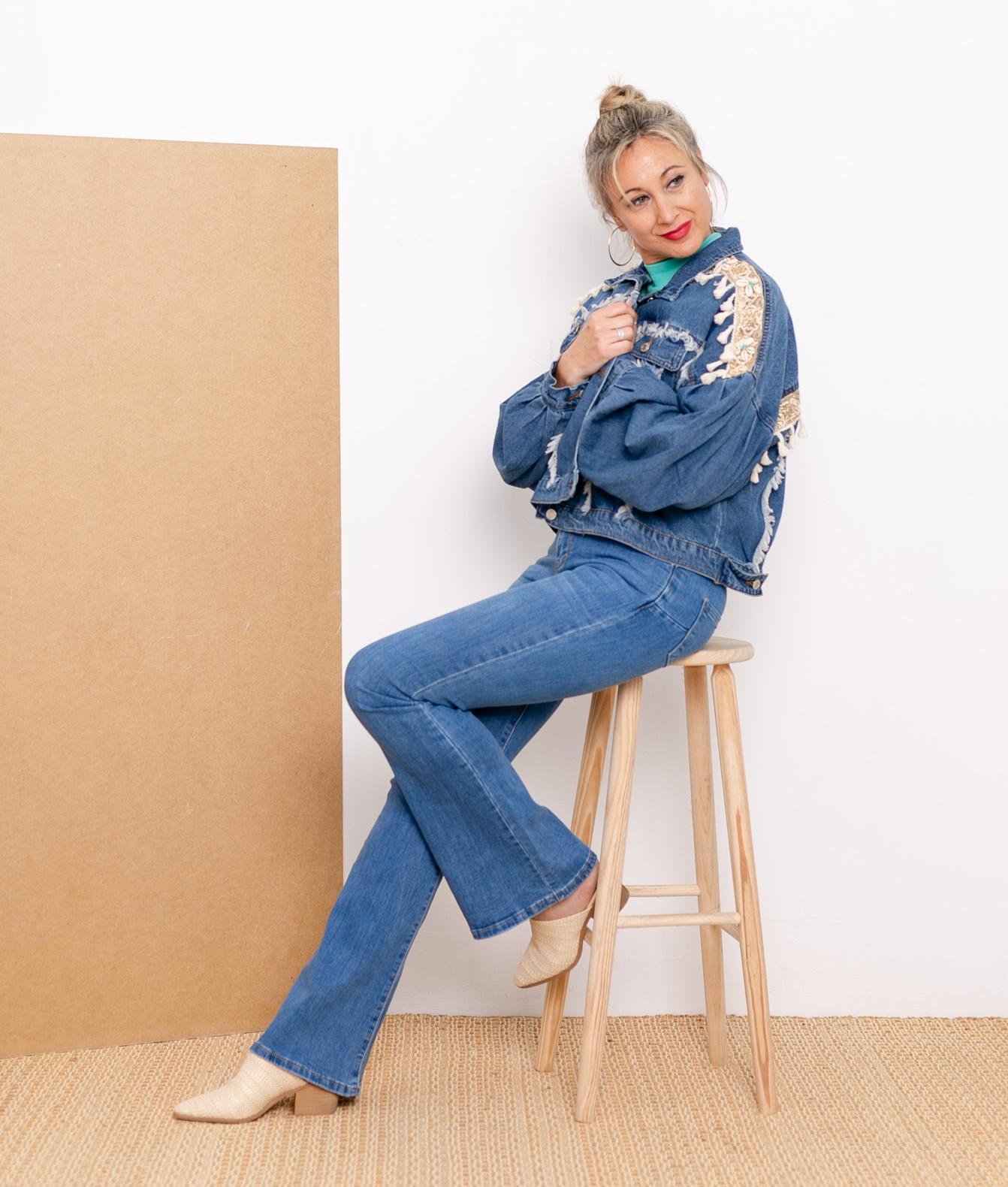 Trousers Trates - Denim