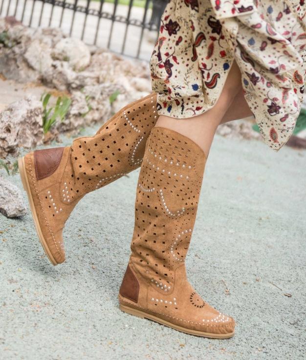 Indianini Boot Yelai - Camel
