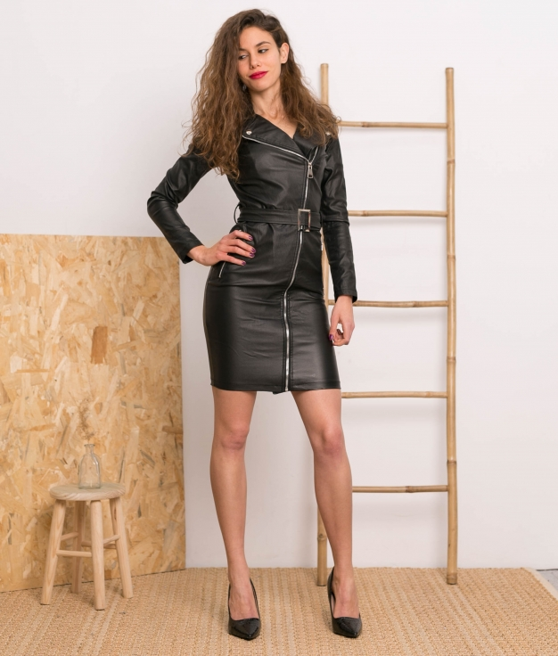 Vestido Zayn - Preto