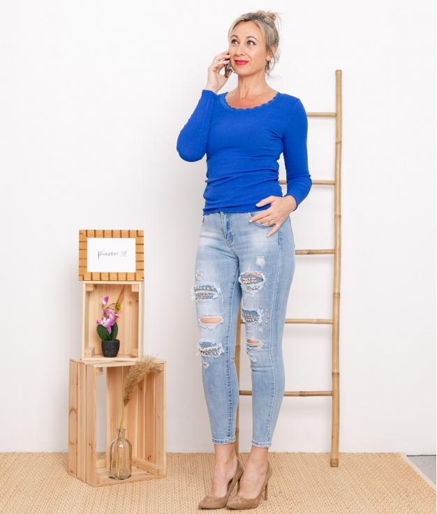 Pantaloni Chismer - Denim