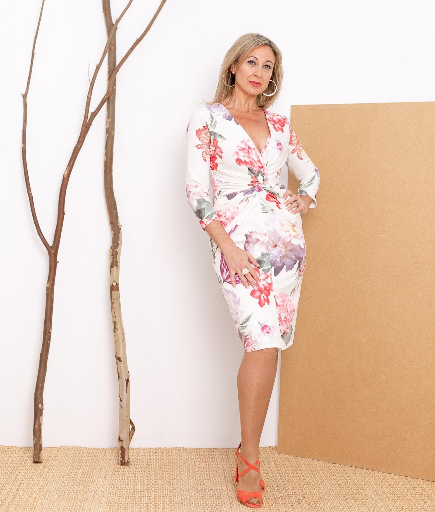 Vestido Lutus - Bianco