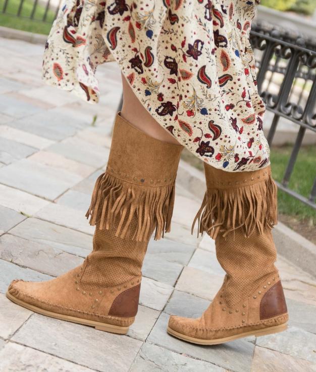 Indianini Boot Sarale - Camel