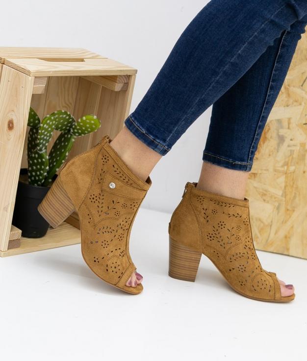 Sandalo Alto Gazol - Camello