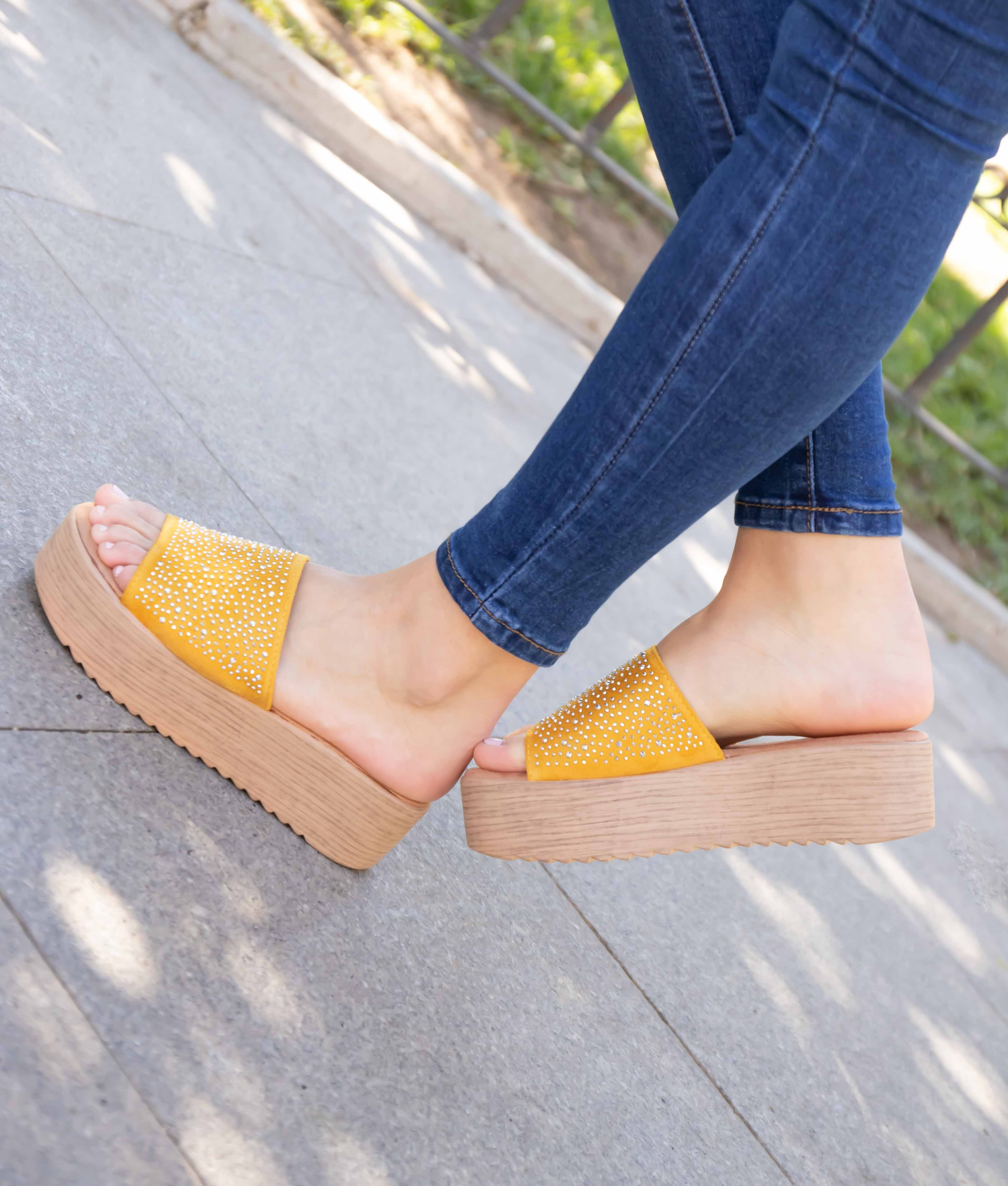 Sandal Tirena - Yellow