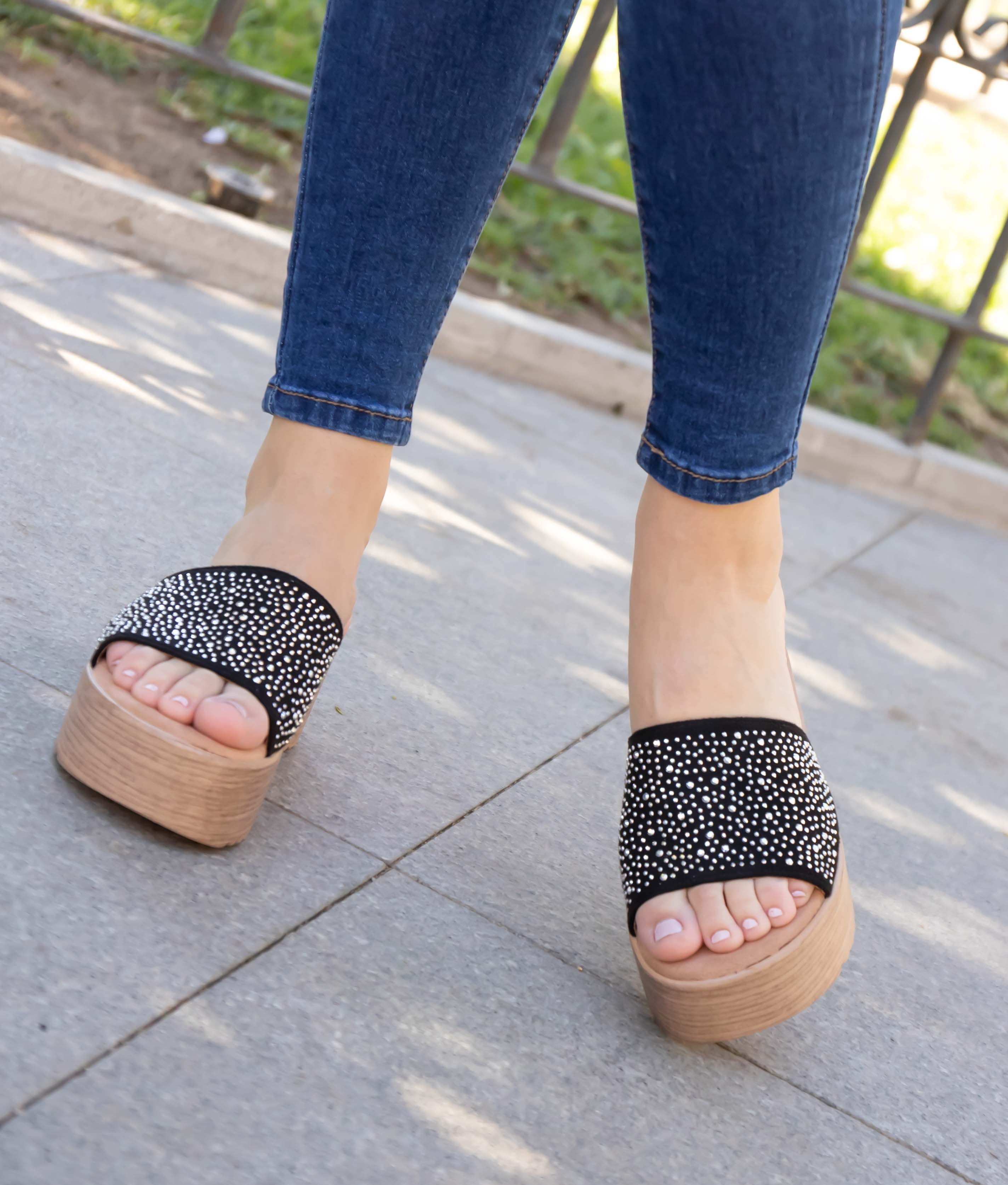 Sandal Tirena - Negro