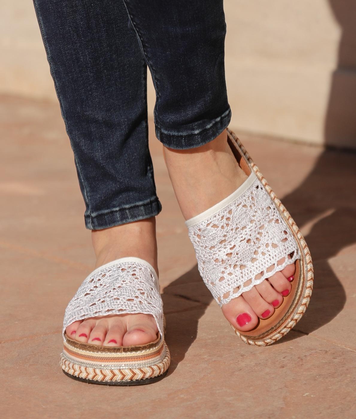 Sandalo Cialco - Bianco