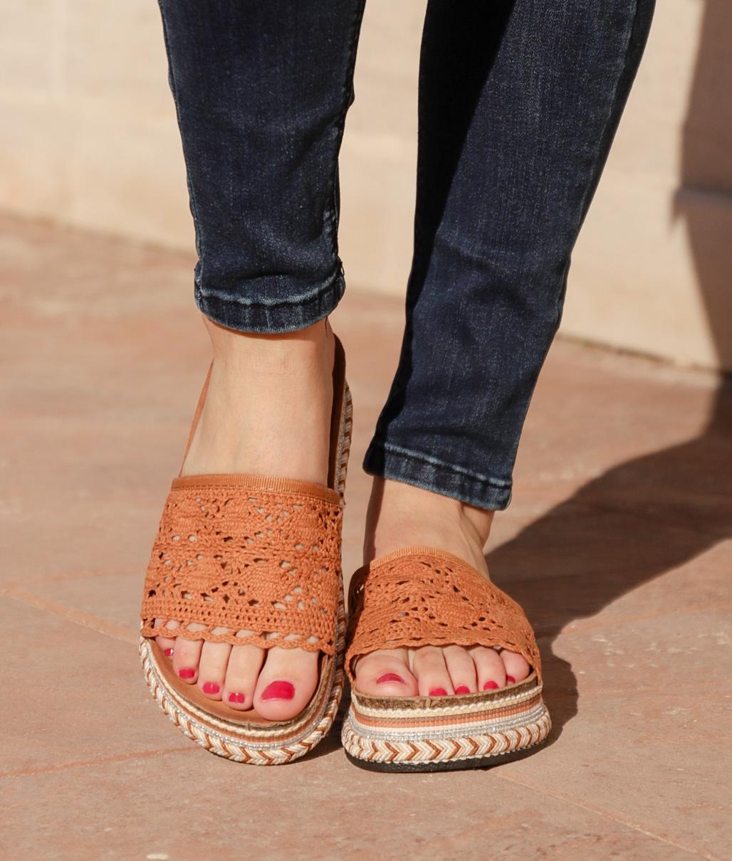 Sandalo Cialco - Cammello